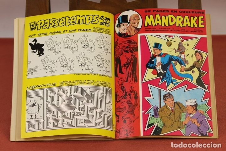 Cómics: 7993 - MANDRAKE. 21 EJEMPLARES. (VER DESCRIPCIÓN). R. VIOLA. EDIT. REMPARTS. 1949-1975. - Foto 12 - 61723812