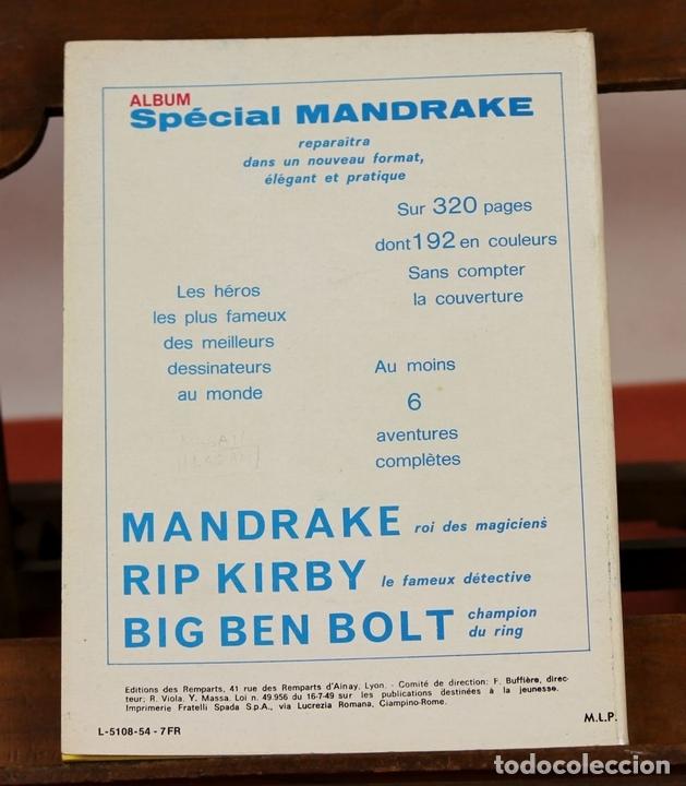 Cómics: 7993 - MANDRAKE. 21 EJEMPLARES. (VER DESCRIPCIÓN). R. VIOLA. EDIT. REMPARTS. 1949-1975. - Foto 15 - 61723812