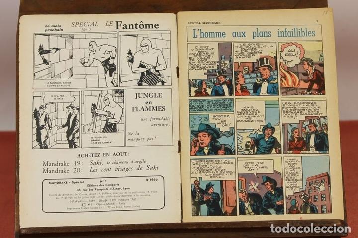 Cómics: 7993 - MANDRAKE. 21 EJEMPLARES. (VER DESCRIPCIÓN). R. VIOLA. EDIT. REMPARTS. 1949-1975. - Foto 21 - 61723812