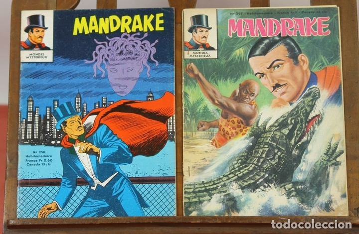 Cómics: 7993 - MANDRAKE. 21 EJEMPLARES. (VER DESCRIPCIÓN). R. VIOLA. EDIT. REMPARTS. 1949-1975. - Foto 29 - 61723812