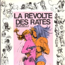 Cómics: LA REVOLTE DES RATES. BUZZELLI. BOUQUINS CHARLIE. AÑO 1974. Lote 94304647