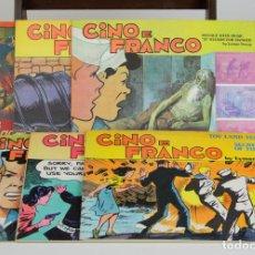 Cómics: 8006 - CINO E FRANCO. EL AGENTE SECRETO X-9. 6 EJEMPLARES(VER DESCRIP). VARIAS EDIT. AÑOS 70. Lote 61906660