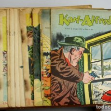 Cómics: 8019 - REVISTA COMIC KARL-ALFRED. 20 EJEMPLARES(VER DESCRIP). AÑOS 50.. Lote 62057872