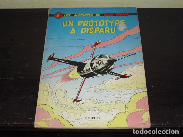 LES AVENTURES DE BUCK DANY - UN PROTOTYPE A DISPARU - 1960 - (Tebeos y Comics - Comics Lengua Extranjera - Comics Europeos)