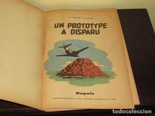 Cómics: LES AVENTURES DE BUCK DANY - UN PROTOTYPE A DISPARU - 1960 - - Foto 2 - 62132804