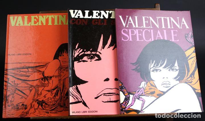 8080 - VALENTINA. COMIC DE ADULTOS 3 EJEM(VER DESCRIP). EDIC. MILANO LIBRI. 1968/1970. (Tebeos y Comics - Comics Lengua Extranjera - Comics Europeos)