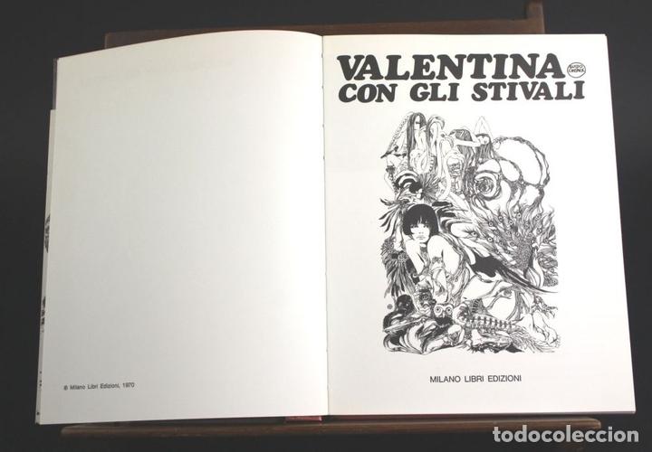 Cómics: 8080 - VALENTINA. COMIC DE ADULTOS 3 EJEM(VER DESCRIP). EDIC. MILANO LIBRI. 1968/1970. - Foto 2 - 63108376