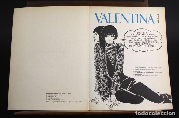 Cómics: 8080 - VALENTINA. COMIC DE ADULTOS 3 EJEM(VER DESCRIP). EDIC. MILANO LIBRI. 1968/1970. - Foto 4 - 63108376