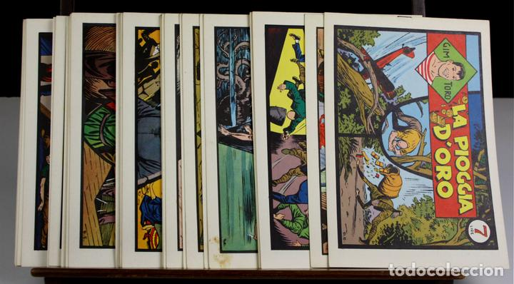 8149 - GIM TORO. 32 EJEMPLARES. (VER DESCRIPCIÓN). EDIC. GRANDI AVVENTURE. 1975. (Tebeos y Comics - Comics Lengua Extranjera - Comics Europeos)