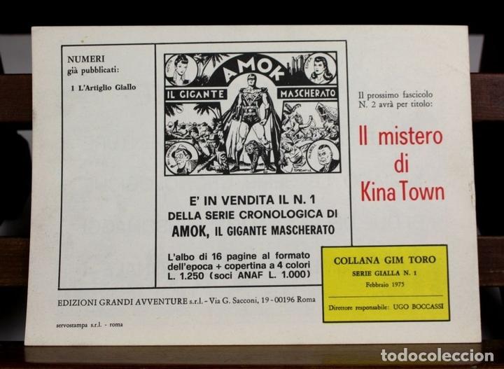 Cómics: 8149 - GIM TORO. 32 EJEMPLARES. (VER DESCRIPCIÓN). EDIC. GRANDI AVVENTURE. 1975. - Foto 5 - 65454790