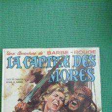 Cómics: BARBE ROUGE. LE CAPTIVE DES MORES. Lote 65918342