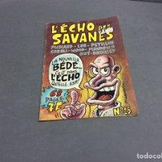 Cómics: L´ECHO DES SAVANES Nº 15 - EDICION EN FRANCES. Lote 66440018