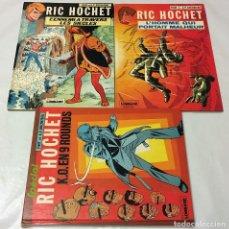 Cómics: RIC HOCHET SPECIAL LOMBARD TIBET DUCHATEAU K.O. EN 9 ROUNDS L´HOMME QUI PORTAIT MALHEUR LES SIECLES. Lote 67686581