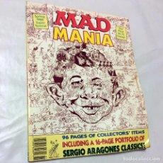 Cómics: MAD MANIA SPRING 1988 SUPER SPECIAL REVISTA ORIGINAL HUMOR ACIDO MAGAZINE SERGIO ARAGONES BAD TASTE . Lote 67687093
