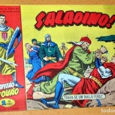 Cómics: EL CAPITÁN TRUENO EN PORTUGUÉS - CUADERNILLO Nº 41 - EDITADO EN PORTUGAL - CAPITAO TROVAO - AÑO 1959. Lote 68314145