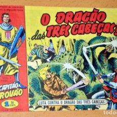 Cómics: EL CAPITÁN TRUENO EN PORTUGUÉS - CUADERNILLO Nº 44 - EDITADO EN PORTUGAL - CAPITAO TROVAO - AÑO 1959. Lote 68314425
