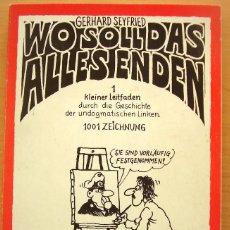 Cómics: WO SOLL DAS ALLES ENDEN TASCHENBUCH - 1978 - COMICS EN ALEMAN. Lote 68577033