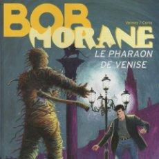 Cómics: BOB MORANE. LE PHARAON DE VENISE. VERNES/CORIA. LE LOMBARD. AÑO 2001. Lote 68671785