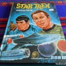 Cómics: STAR TREK ANNUAL 1976. EDICIÓN INGLESA EN TAPA DURA. MUY RARO. . Lote 69069625