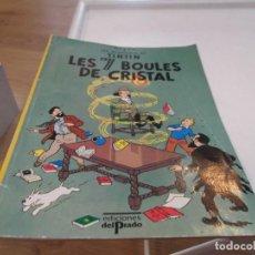 Cómics: LES 7 BOULES DE CRISTAL. TINTÍN. FRANCÉS. EDICIONES DEL PRADO. SIETE BOLAS DE CRISTAL.. Lote 69244809