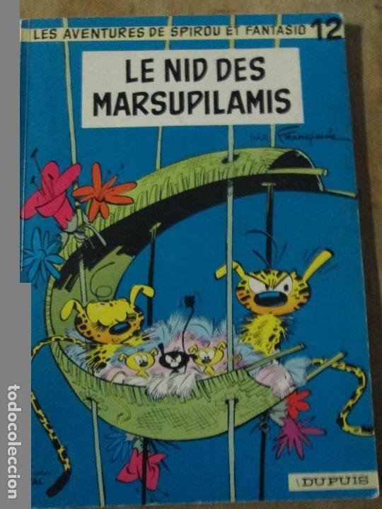 LES AVENTURES DE SPIROU ET FANTASIO-LE NID DES MARSUPILAMIS (Tebeos y Comics - Comics Lengua Extranjera - Comics Europeos)