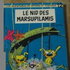 Cómics: LES AVENTURES DE SPIROU ET FANTASIO-LE NID DES MARSUPILAMIS. Lote 72305463