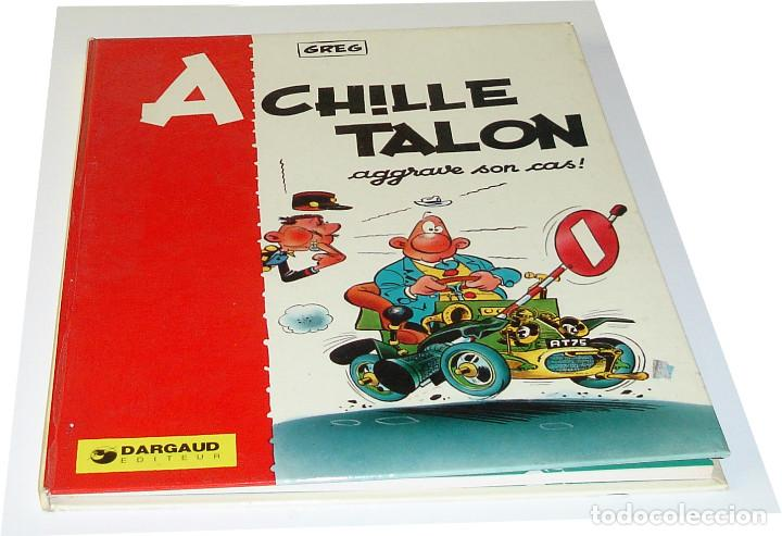 EN FRANCÉS - 9 VOLS. COLECCIÓN DARGAUD - ACHILLE TALON - (1965-1976) - GREG (Tebeos y Comics - Comics Lengua Extranjera - Comics Europeos)