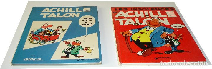 Cómics: EN FRANCÉS - 9 VOLS. COLECCIÓN DARGAUD - ACHILLE TALON - (1965-1976) - GREG - Foto 2 - 72871263