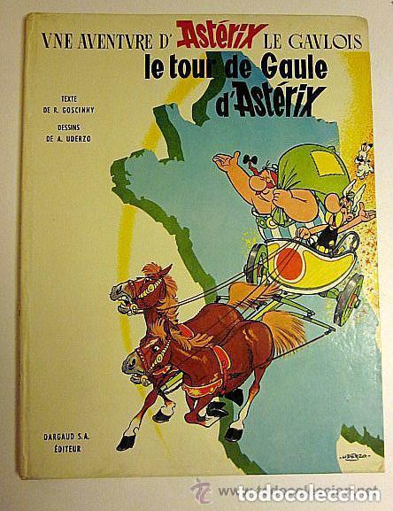 UNE AVENTURE D´ASTÉRIX LE GAULOIS. LE TOUR DE GAULE D´ASTÉRIX. DARGAUD 1965. (Tebeos y Comics - Comics Lengua Extranjera - Comics Europeos)