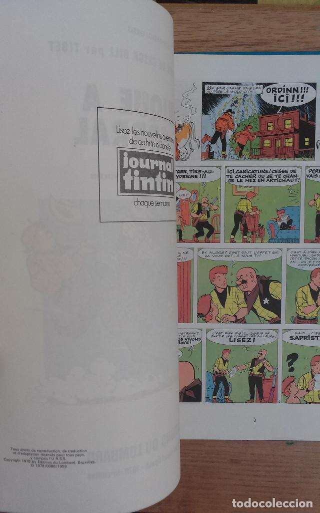 Cómics: Les aventures de Chick Bill par Tibet - Panique a K.O corral Editions du Lombard 1978 1ª EDICION - Foto 2 - 73942183