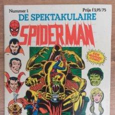 Cómics: SPIDERMAN DE SPEKTAKULAIRE LOTE 8 PRIMEROS NUMEROS -TAPA SEMIDURA JUNIOR PRESS STRIP 1983. Lote 73948171