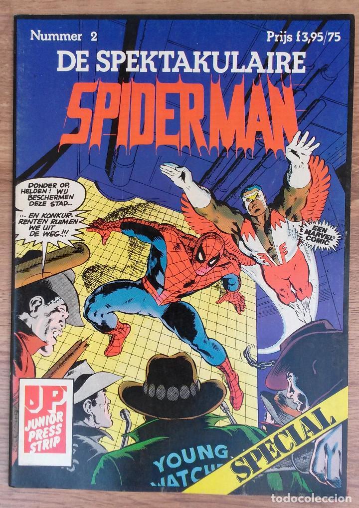 Cómics: SPIDERMAN DE SPEKTAKULAIRE Lote 8 primeros numeros -Tapa semidura Junior Press strip 1983 - Foto 2 - 73948171