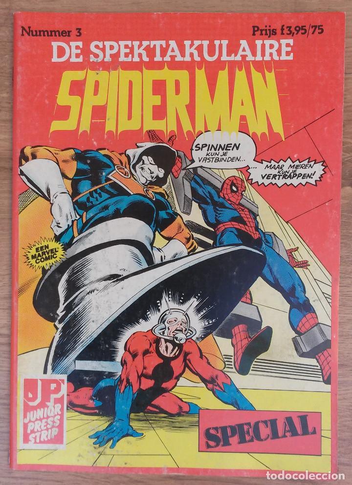 Cómics: SPIDERMAN DE SPEKTAKULAIRE Lote 8 primeros numeros -Tapa semidura Junior Press strip 1983 - Foto 3 - 73948171