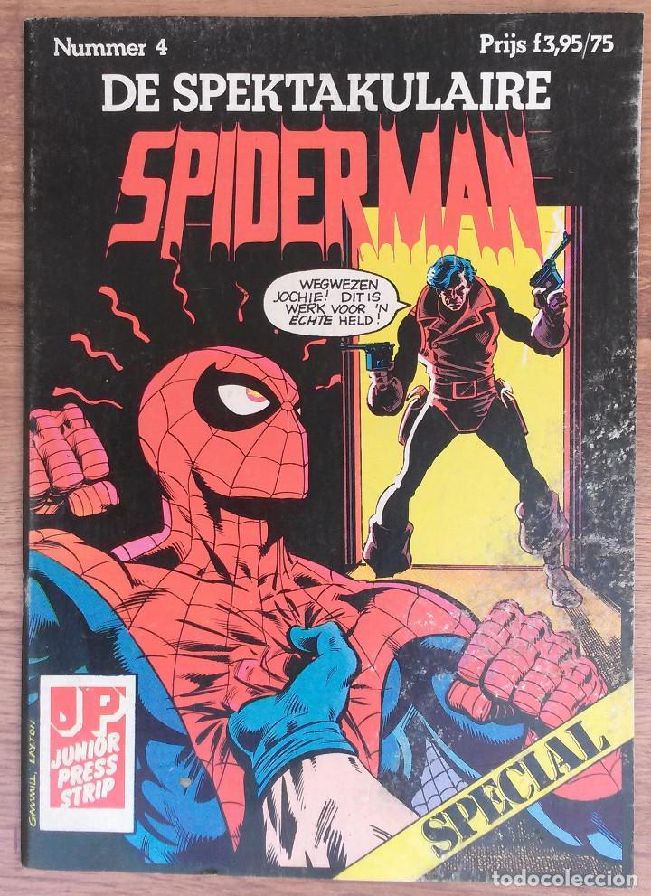 Cómics: SPIDERMAN DE SPEKTAKULAIRE Lote 8 primeros numeros -Tapa semidura Junior Press strip 1983 - Foto 4 - 73948171