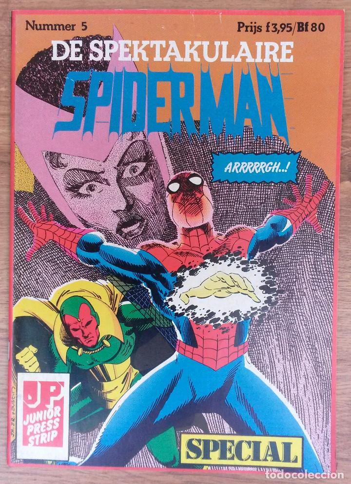 Cómics: SPIDERMAN DE SPEKTAKULAIRE Lote 8 primeros numeros -Tapa semidura Junior Press strip 1983 - Foto 5 - 73948171