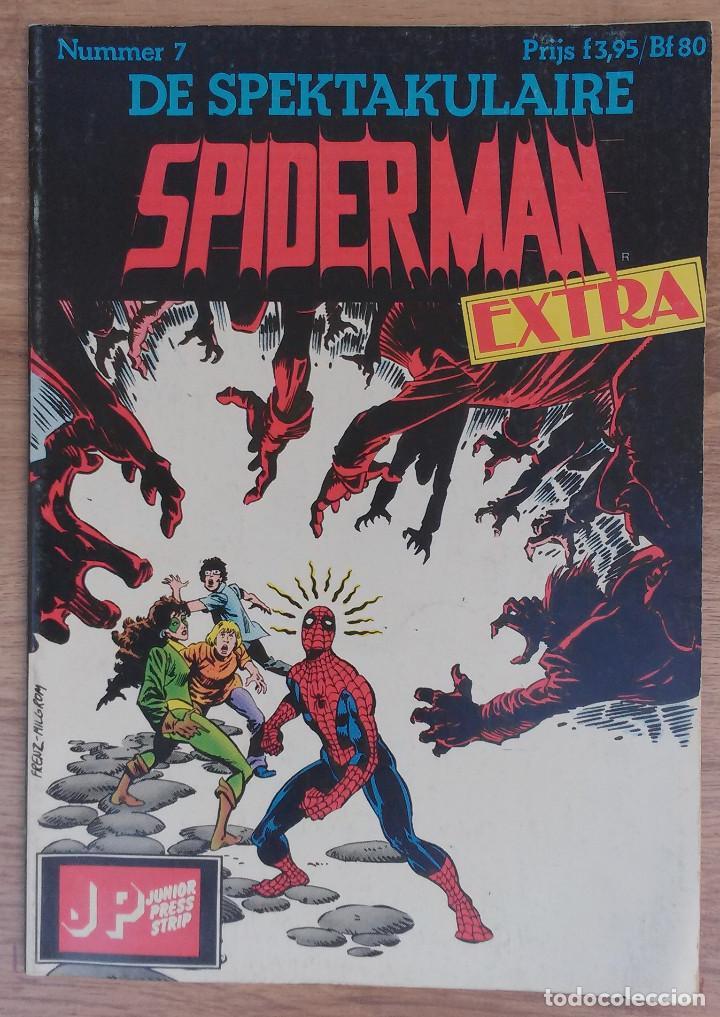 Cómics: SPIDERMAN DE SPEKTAKULAIRE Lote 8 primeros numeros -Tapa semidura Junior Press strip 1983 - Foto 7 - 73948171