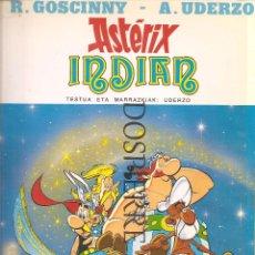Cómics: ASTERIX INDIAN, EN EUSKERA, TAPA BLANDA, 1994. Lote 74190363