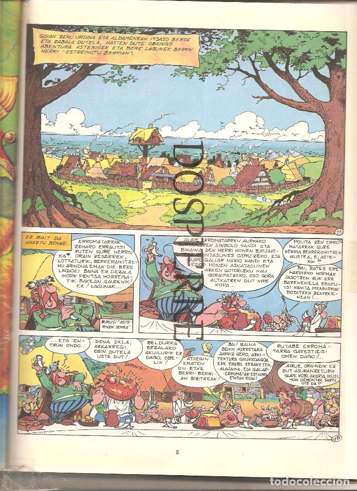 Cómics: ASTERIX INDIAN, EN EUSKERA, TAPA BLANDA, 1994 - Foto 3 - 74190363