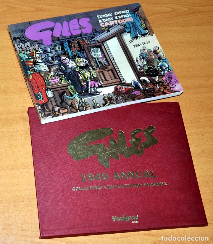 EDICIÓN ESPECIAL LIMITADA Y NUMERADA: GILES CARTOONS - 1949 ANNUAL FACSIMIL - PEDIGREÉ BOOKS - 1997 (Tebeos y Comics - Comics Lengua Extranjera - Comics Europeos)