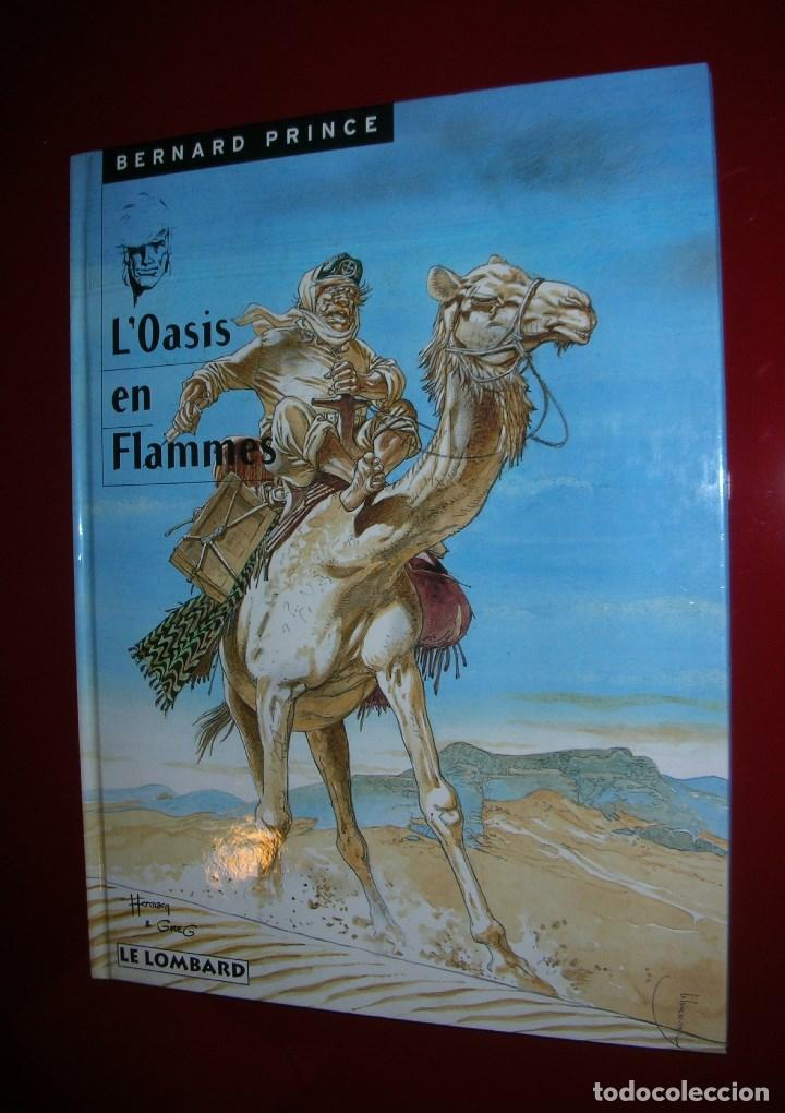 BERNARD PRINCE L'OASIS EN FLAMMES . HERMANN & GREG.T 5 , LE LOMBARD MARS 1998 . STRICTEMENT NEUF (Tebeos y Comics - Comics Lengua Extranjera - Comics Europeos)