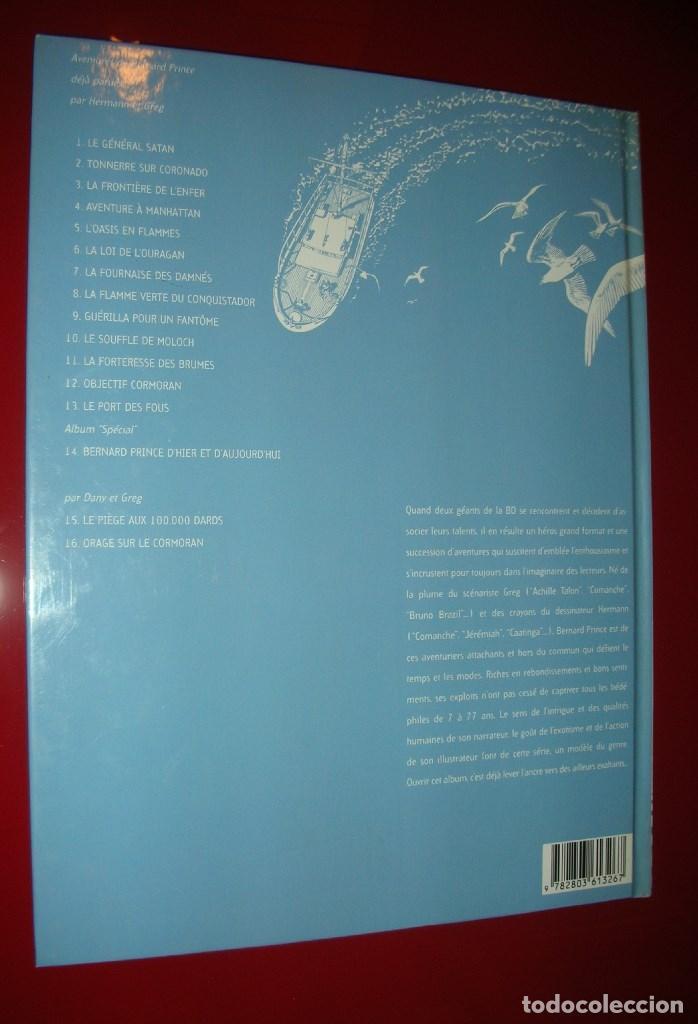 Cómics: BERNARD PRINCE LOasis en Flammes . Hermann & Greg.T 5 , LE LOMBARD mars 1998 . STRICTEMENT NEUF - Foto 2 - 162875217