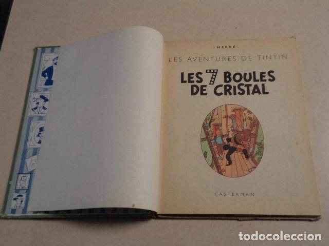 Cómics: TINTIN LES 7 BOULES DE CRISTAL - AÑO 1963 - HERGÉ - Foto 6 - 76013887