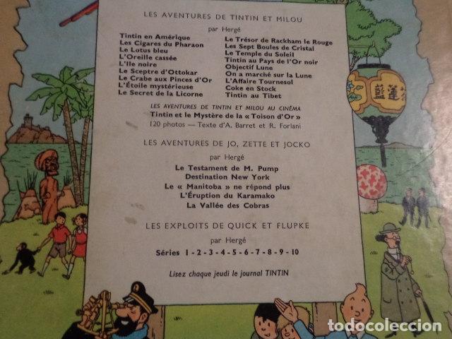 Cómics: TINTIN LES 7 BOULES DE CRISTAL - AÑO 1963 - HERGÉ - Foto 11 - 76013887