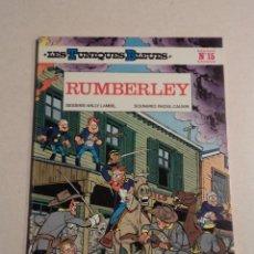 Cómics: RUMBERLEY - LES TUNIQUES BLEUES Nº 15 - LOUIS SALVÉRIUS / RAOUL CAUVIN. Lote 76476359