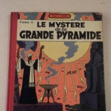 Cómics: LE MYSTÈRE DE LA GRANDE PYRAMIDE TOME II - BLAKE & MORTIMER - AÑO 1955 - 1ª EDICIÓN -EDGAR P. JACOBS. Lote 77337721