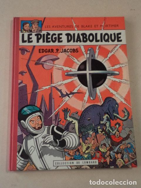 LE PIÈGE DIABOLIQUE - BLAKE & MORTIMER - AÑO 1962 - 1ª EDICIÓN - EDGAR P. JACOBS (Tebeos y Comics - Comics Lengua Extranjera - Comics Europeos)