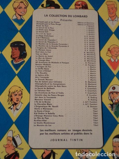 Cómics: LE PIÈGE DIABOLIQUE - BLAKE & MORTIMER - AÑO 1962 - 1ª EDICIÓN - EDGAR P. JACOBS - Foto 9 - 77338669