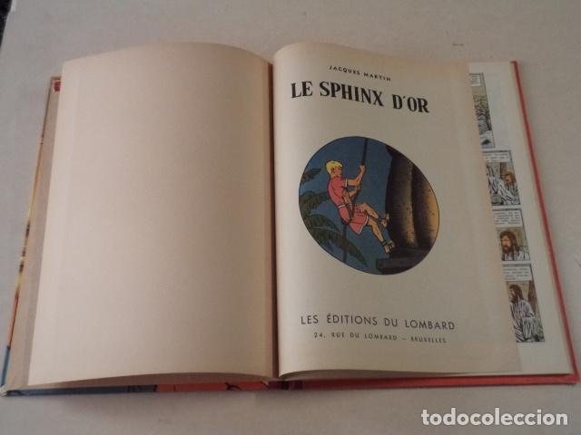 Cómics: LE SPHINX DOR - ALIX - AÑO 1956- 1ª EDICIÓN - JACQUES MARTIN - Foto 3 - 77339197