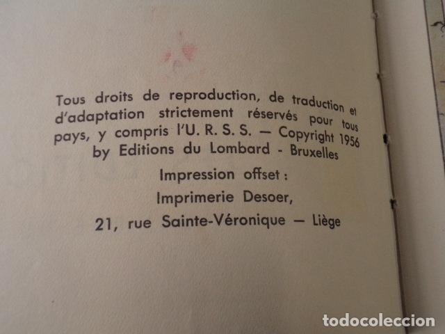Cómics: LE SPHINX DOR - ALIX - AÑO 1956- 1ª EDICIÓN - JACQUES MARTIN - Foto 5 - 77339197