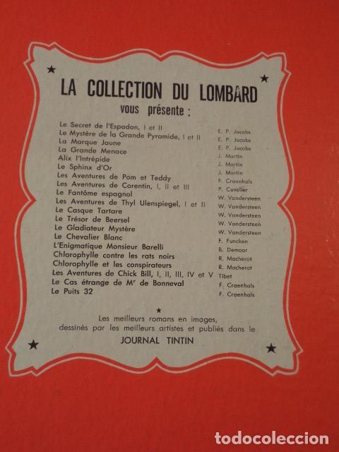 Cómics: LE SPHINX DOR - ALIX - AÑO 1956- 1ª EDICIÓN - JACQUES MARTIN - Foto 8 - 77339197